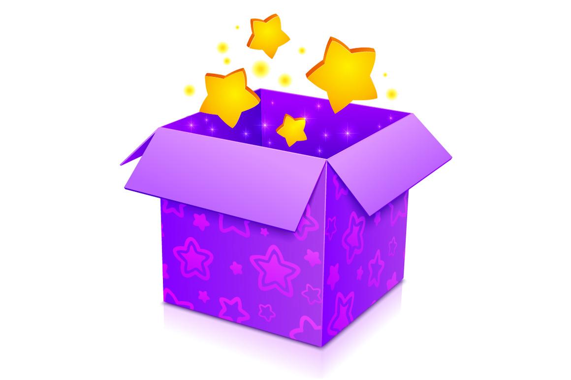 Картинка волшебная коробка анимация