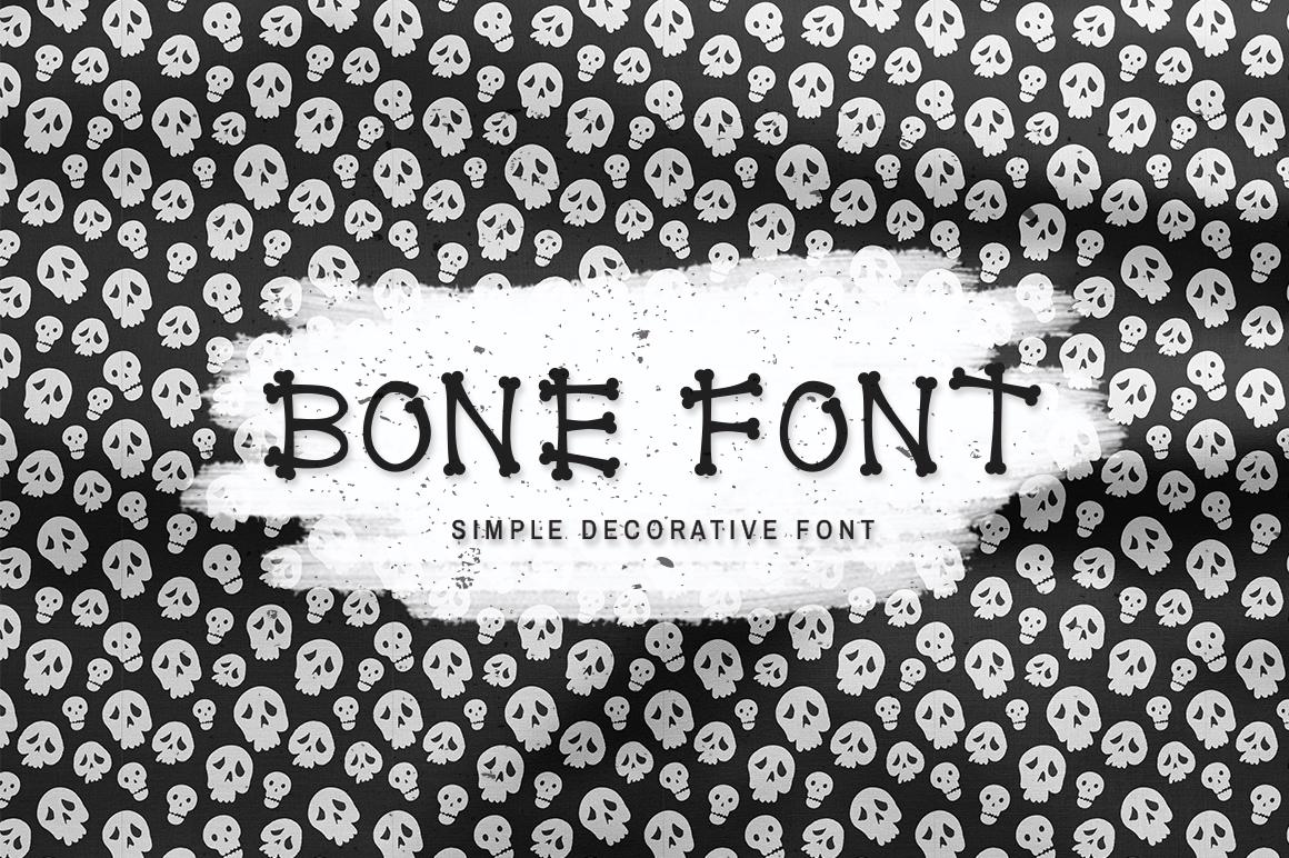 Bone Font example image 1