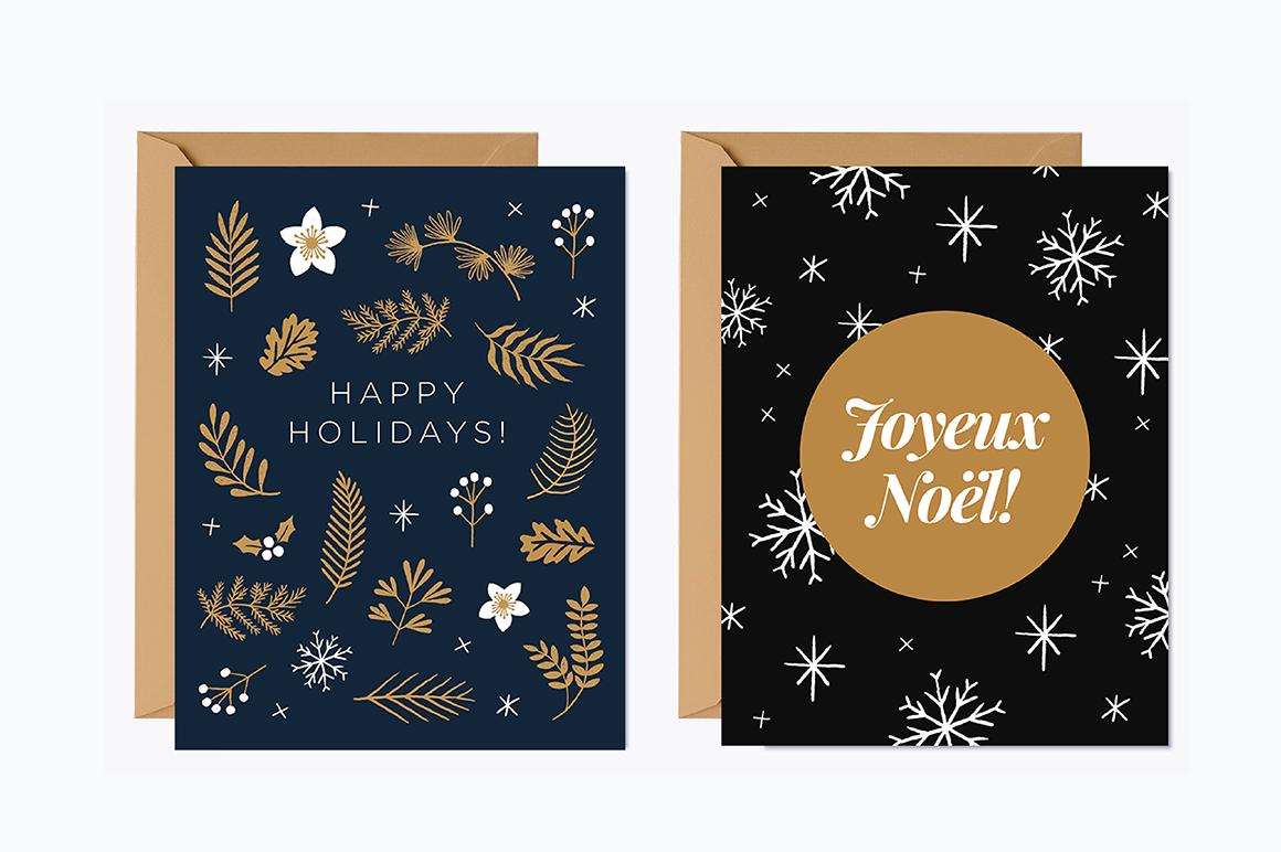 Elegant Christmas Graphic Set example image 9