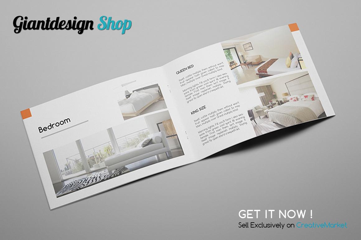 A5 Interior Design Brochure Catalog example image 3