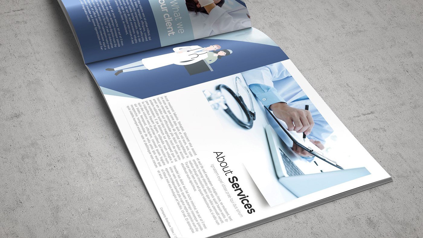 Health & Care Brochure Template example image 9