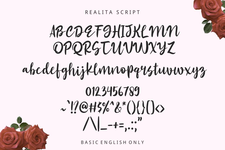 Realita Color Font example image 3