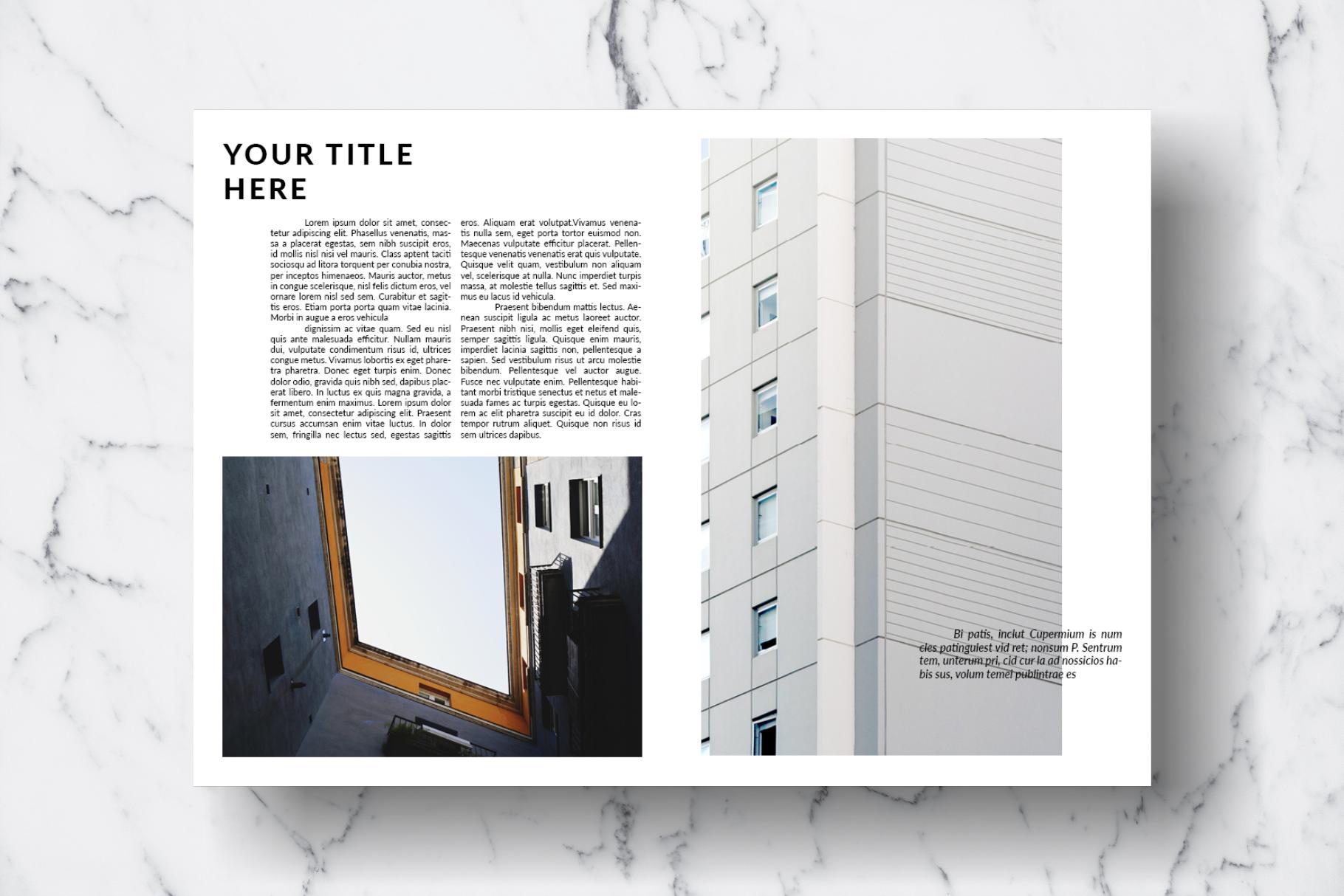 Magazine Template Vol. 13 example image 8
