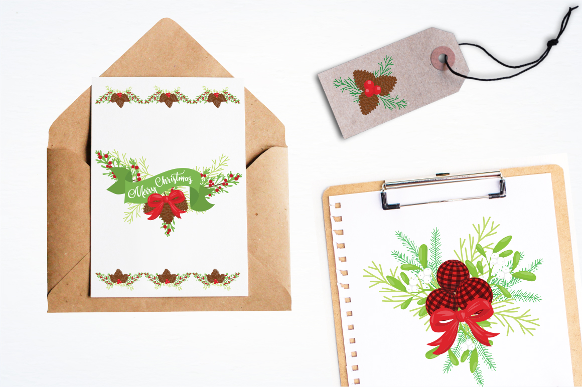 Merry Christmas graphic and illustrations example image 3