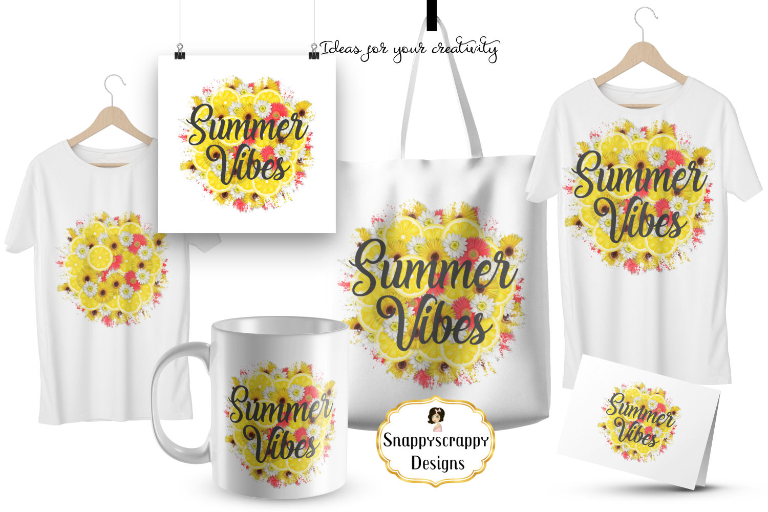 Summer Vibes Sublimation example image 3
