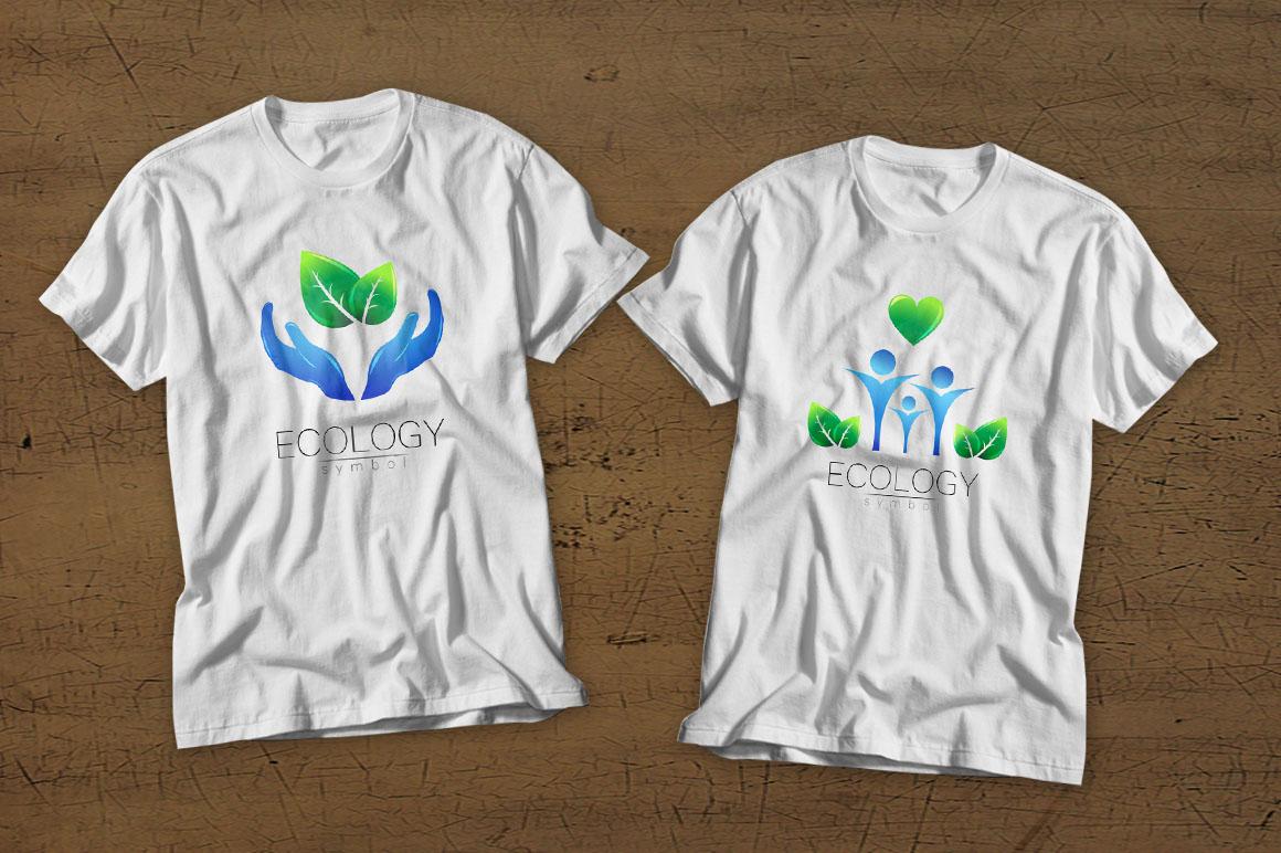 6 Ecology symbols, logos example image 2
