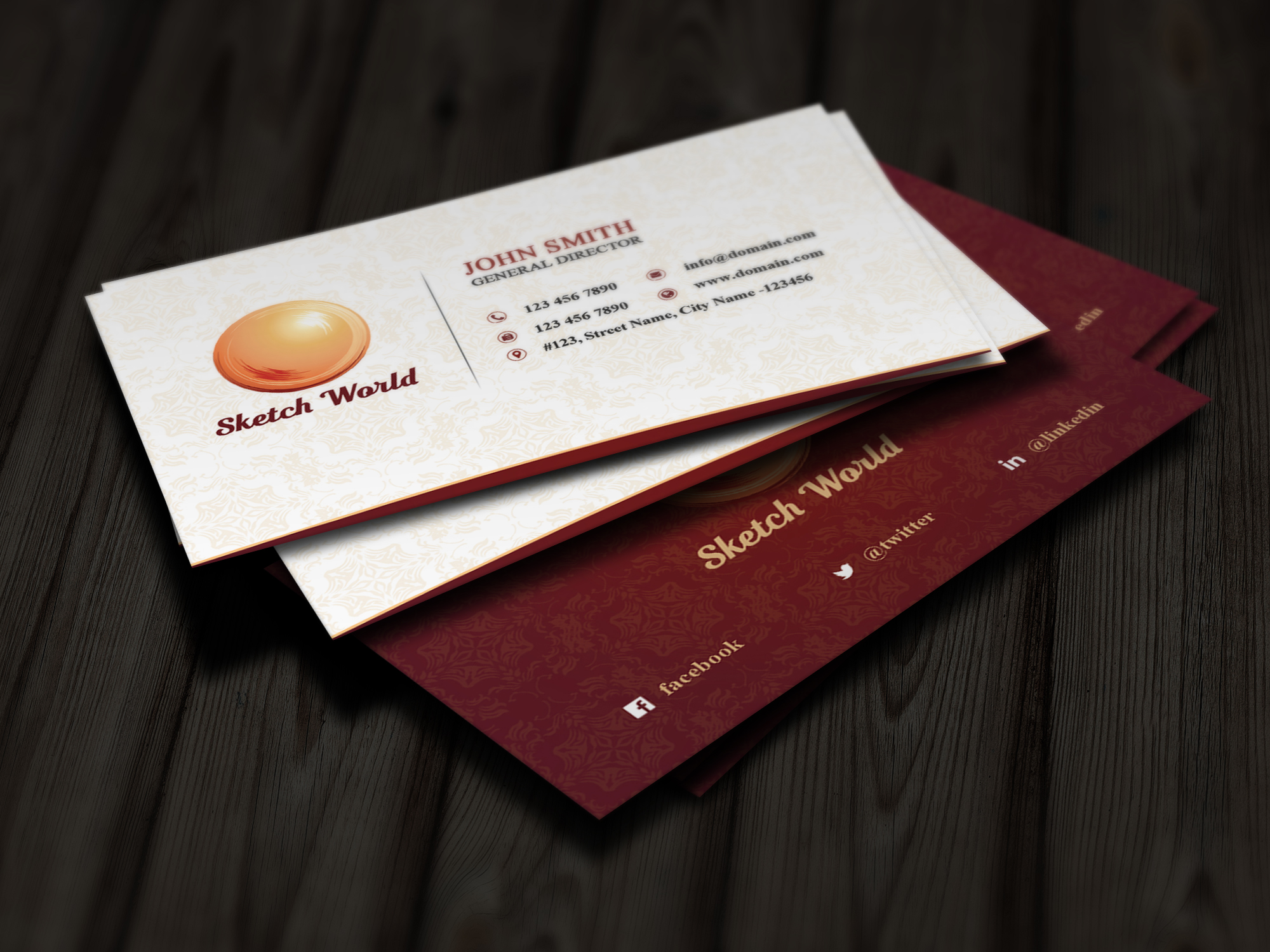 5 Business card bundle - Limited Period Offer example image 2