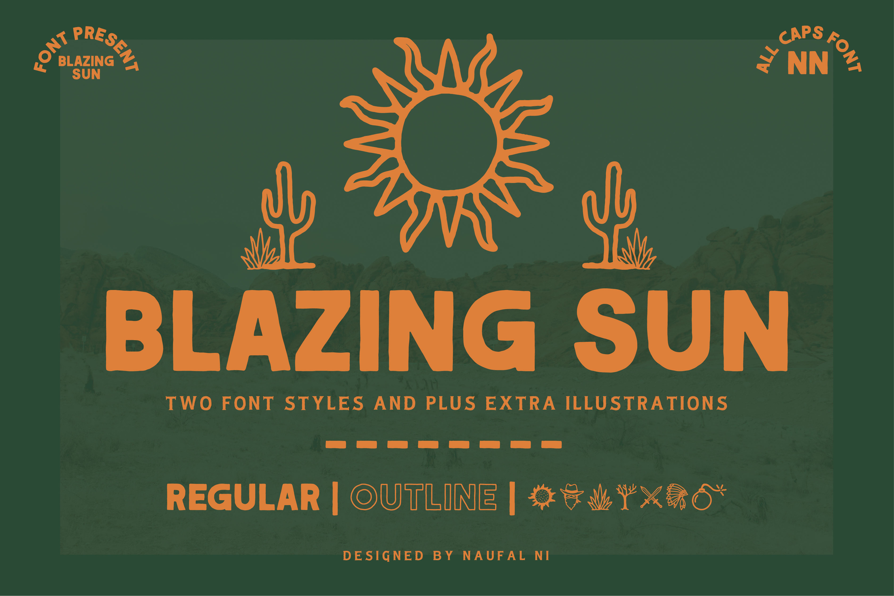 BLAZING SUN example image 1