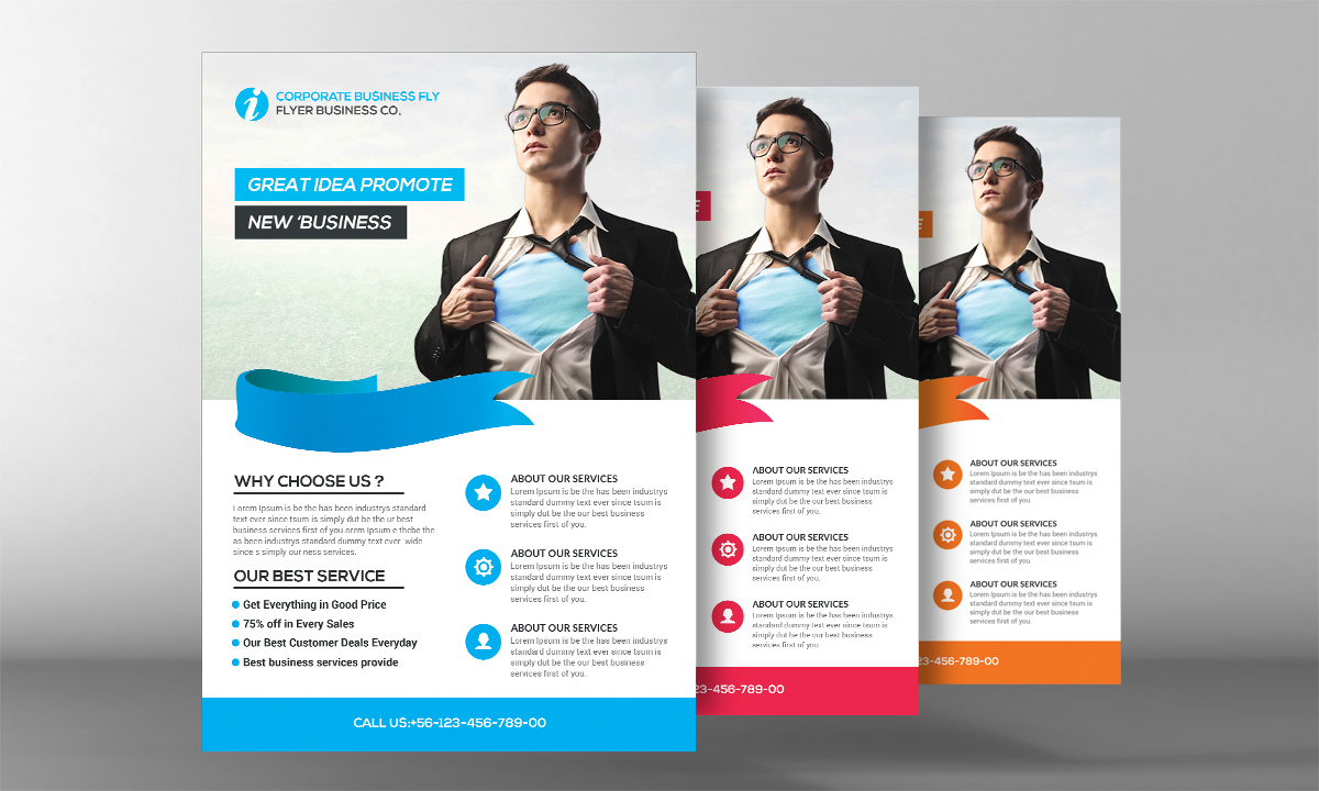 Light Business Flyer example image 2