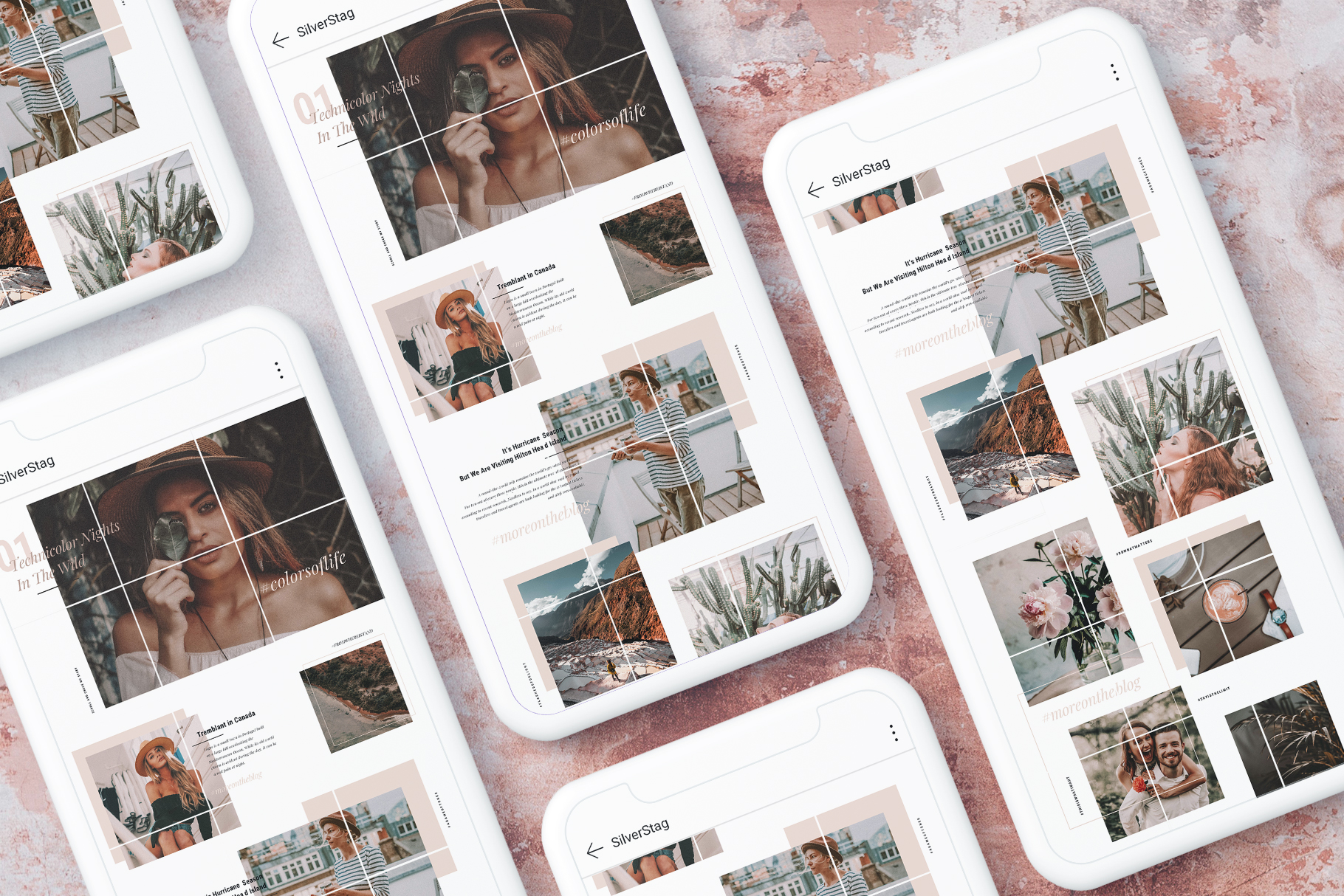 #InstaGrid 1.0 - Instagram Canva Puzzle Template example image 2