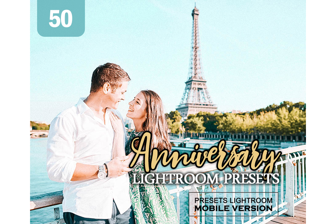 Anniversary Lightroom Mobile Presets Adroid and Iphone/Ipad example image 1