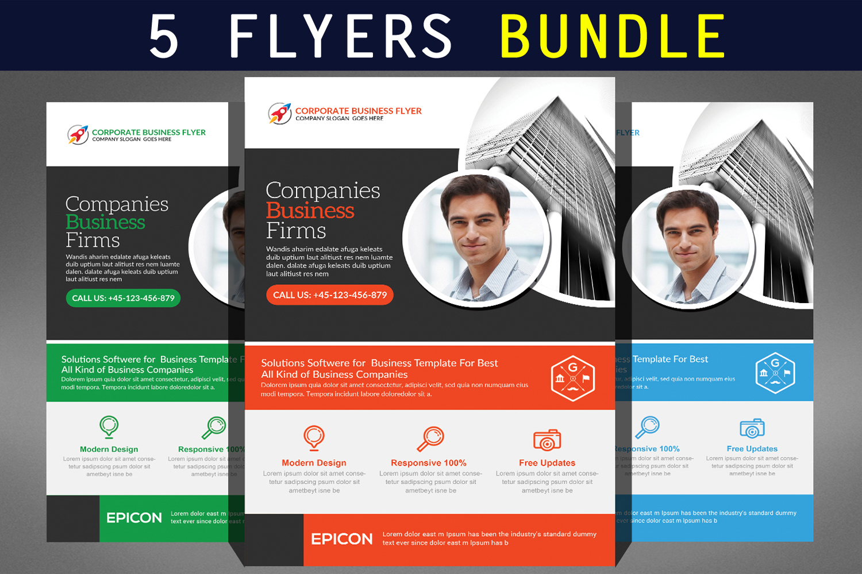 Corporate Business Flyer Bundle example image 1