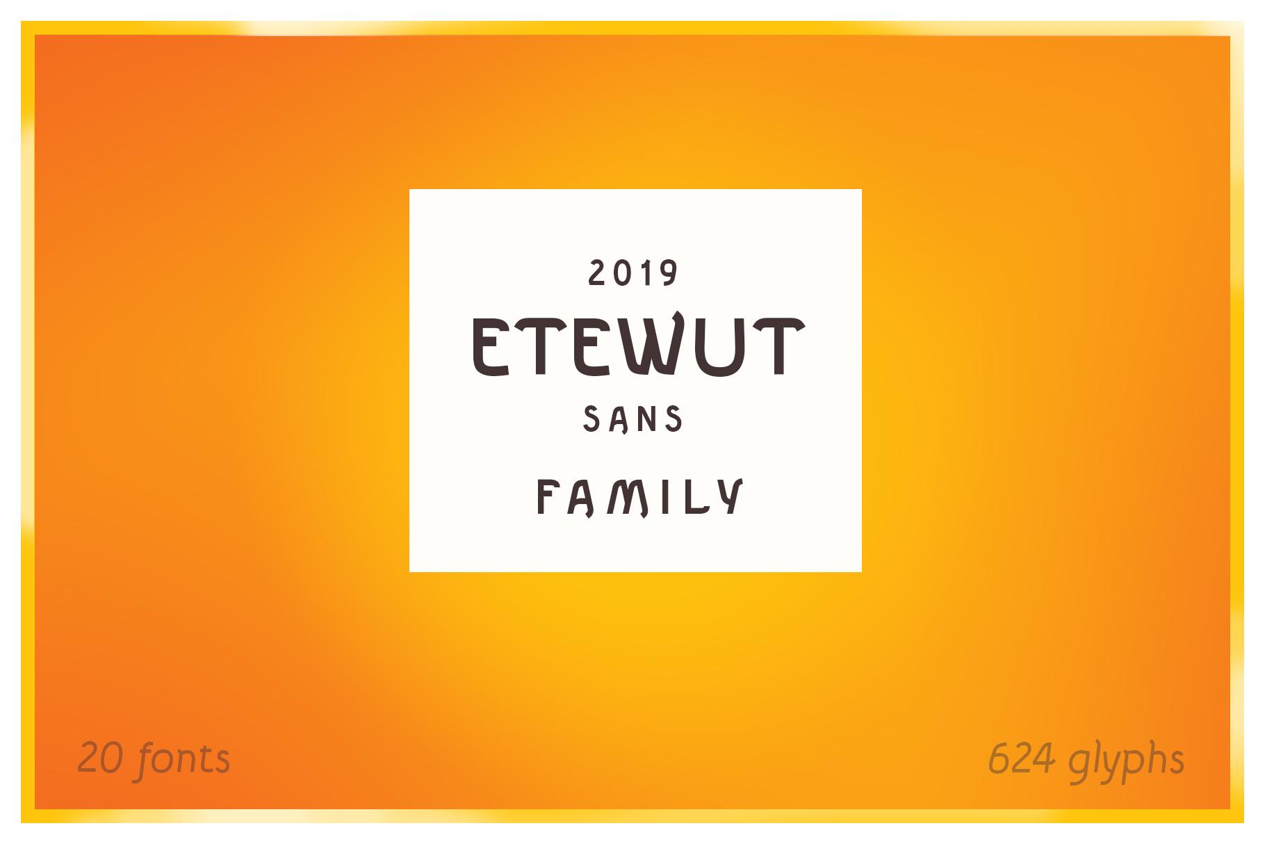 Etewut Sans example image 5
