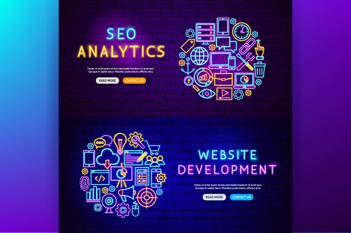 Web Development Neon example image 8