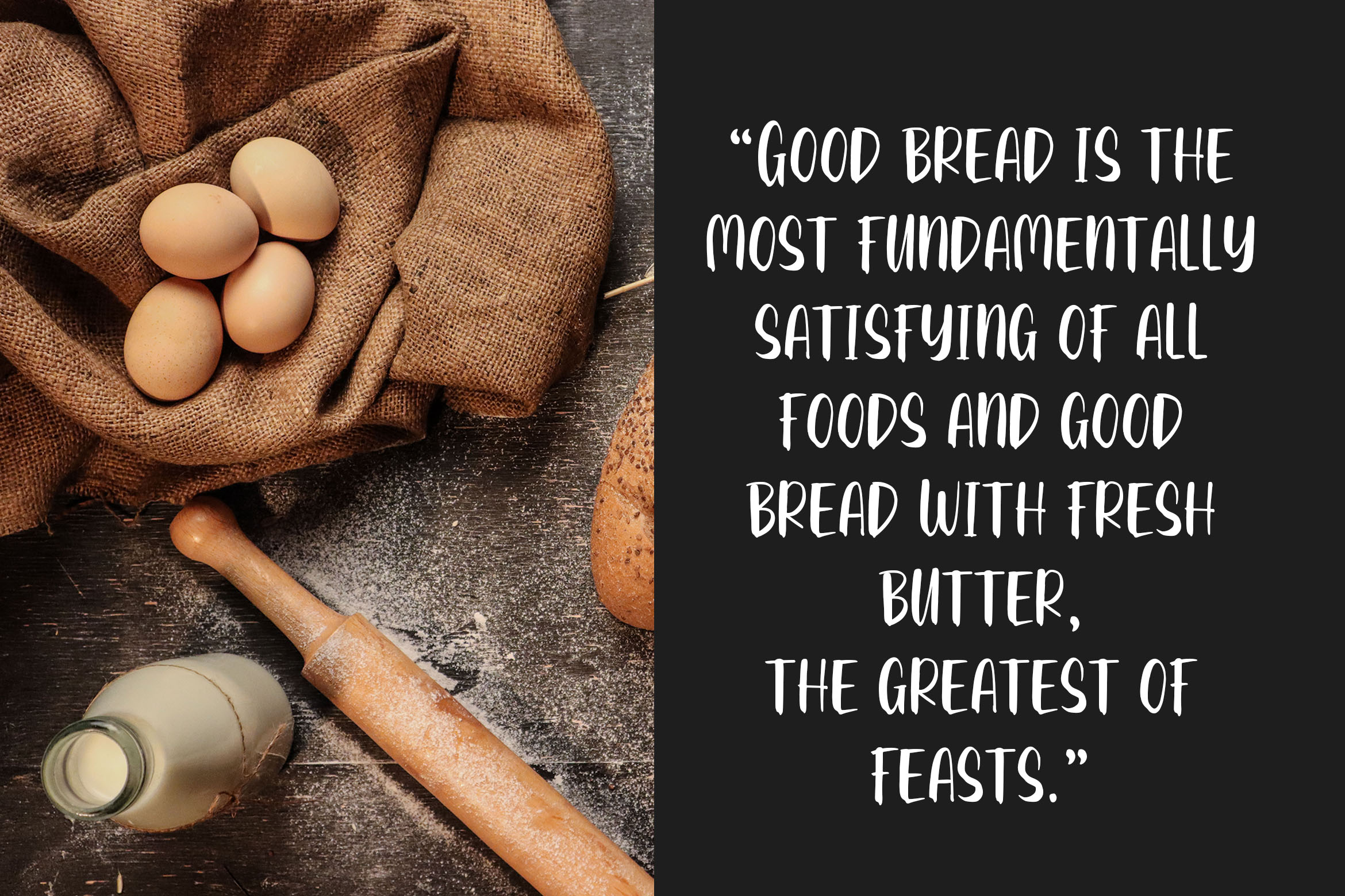Breadness - a Delicious Font example image 3