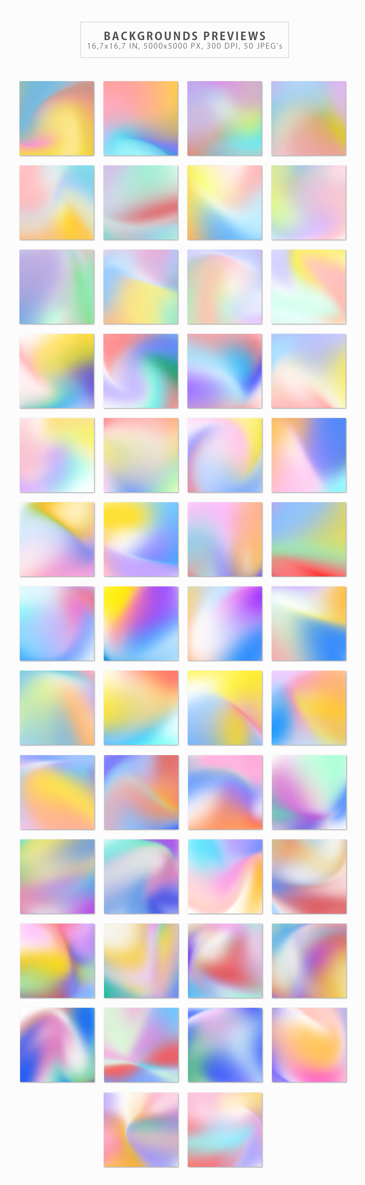 50 Holographic Backgrounds example image 2