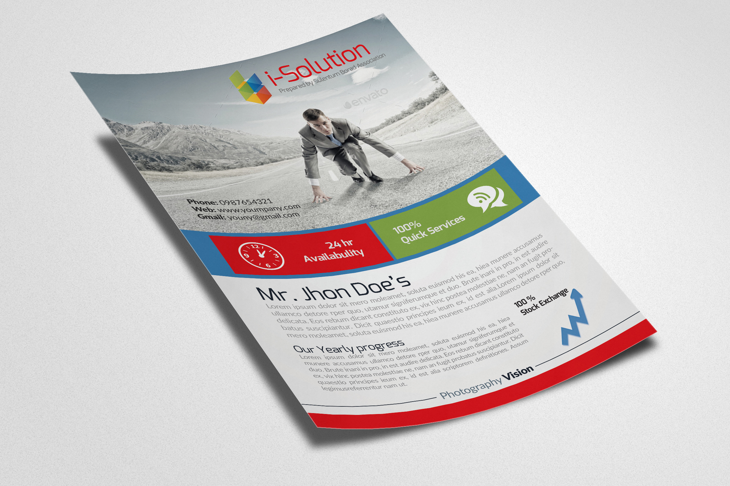 Business Innovation Flyer Template example image 2