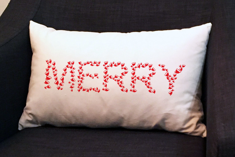 Santa Hat Font - A Fun Christmas Font example image 5