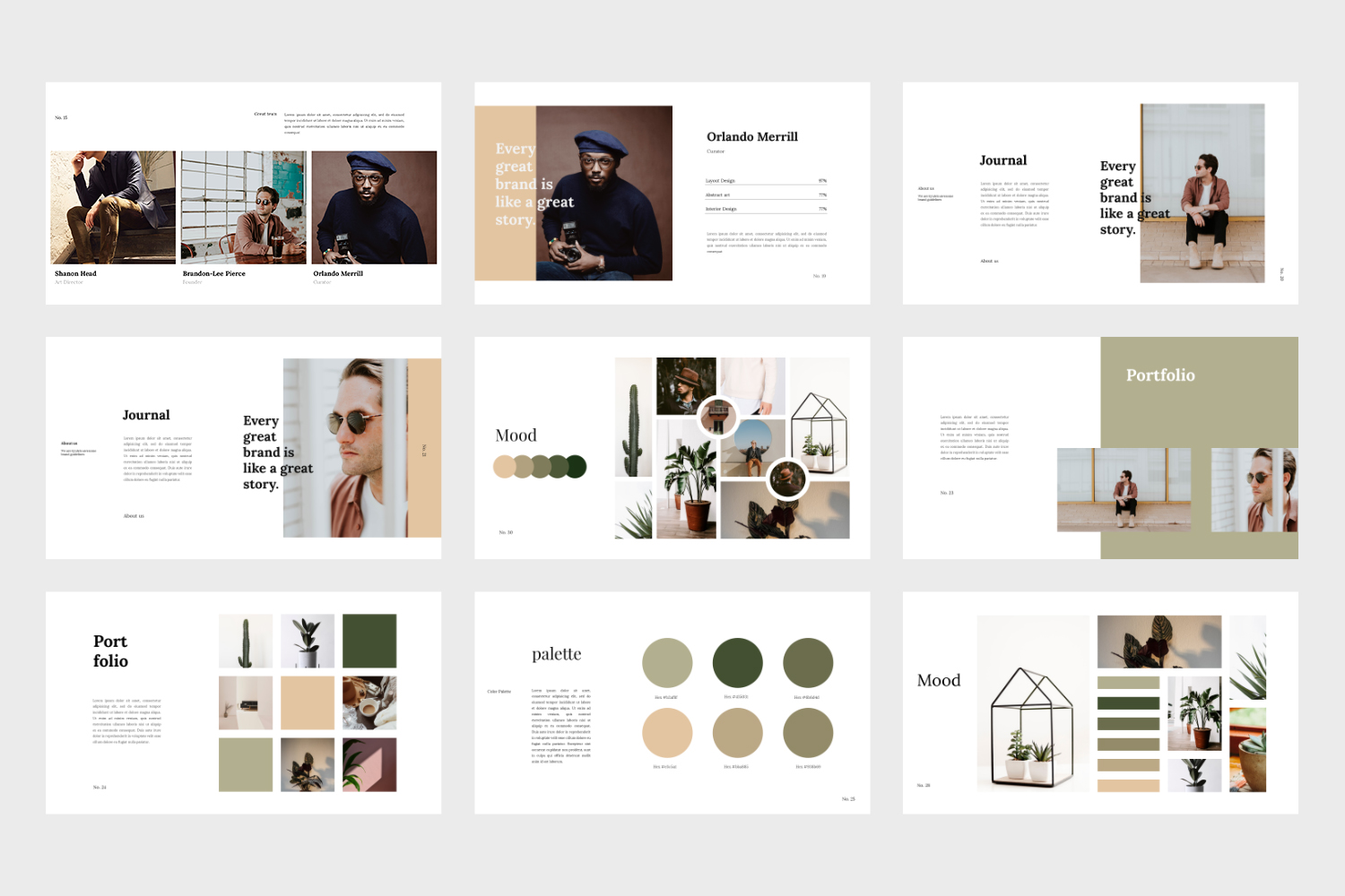 Kyuleto - Keynote Brand Guidelines Template example image 6