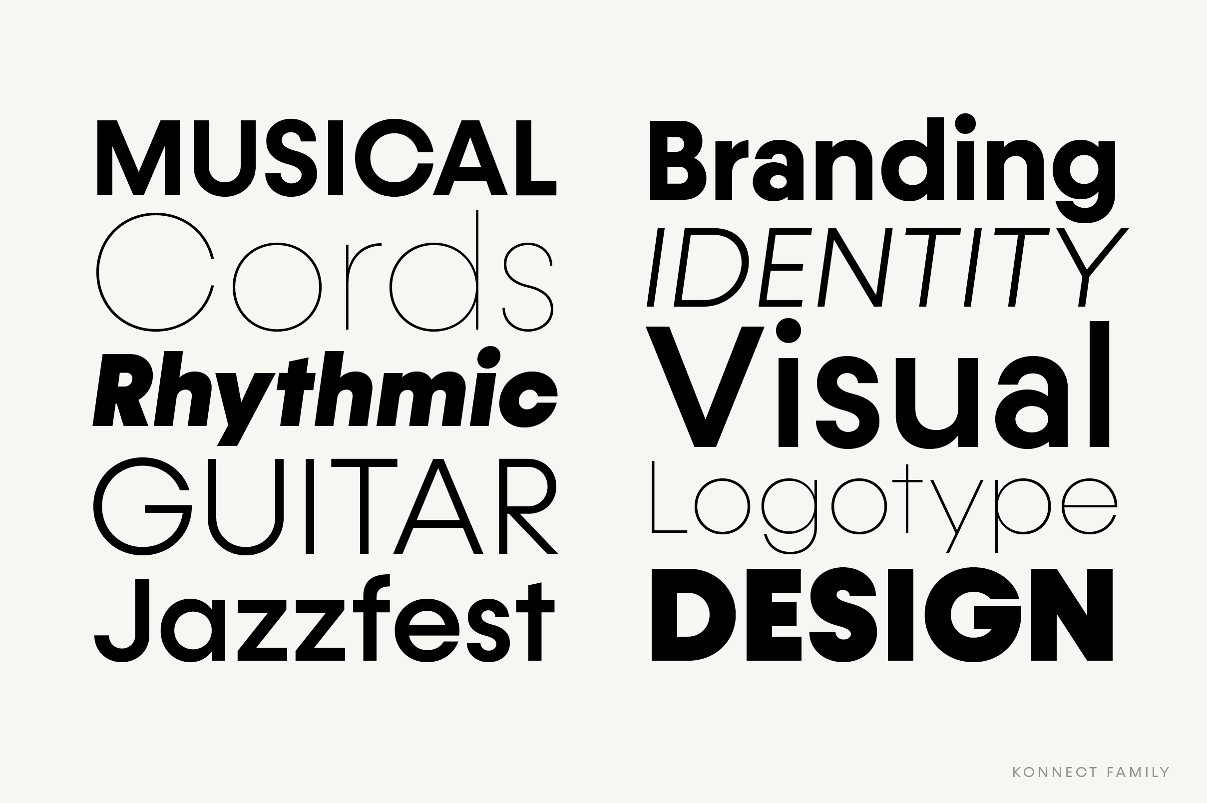 Konnect Font Family example image 8