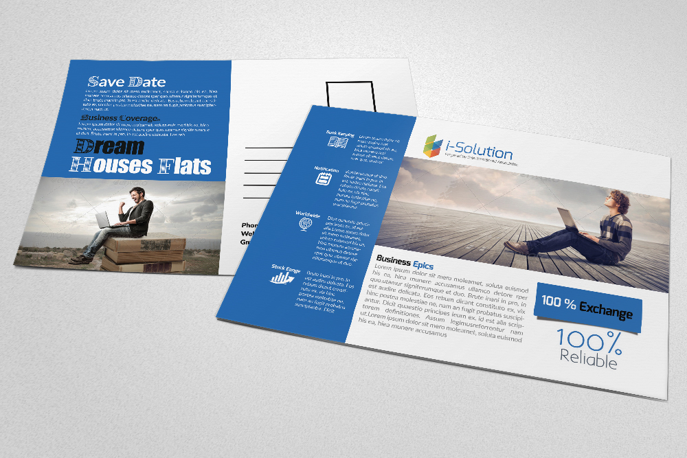 Business Solution PostCards example image 1