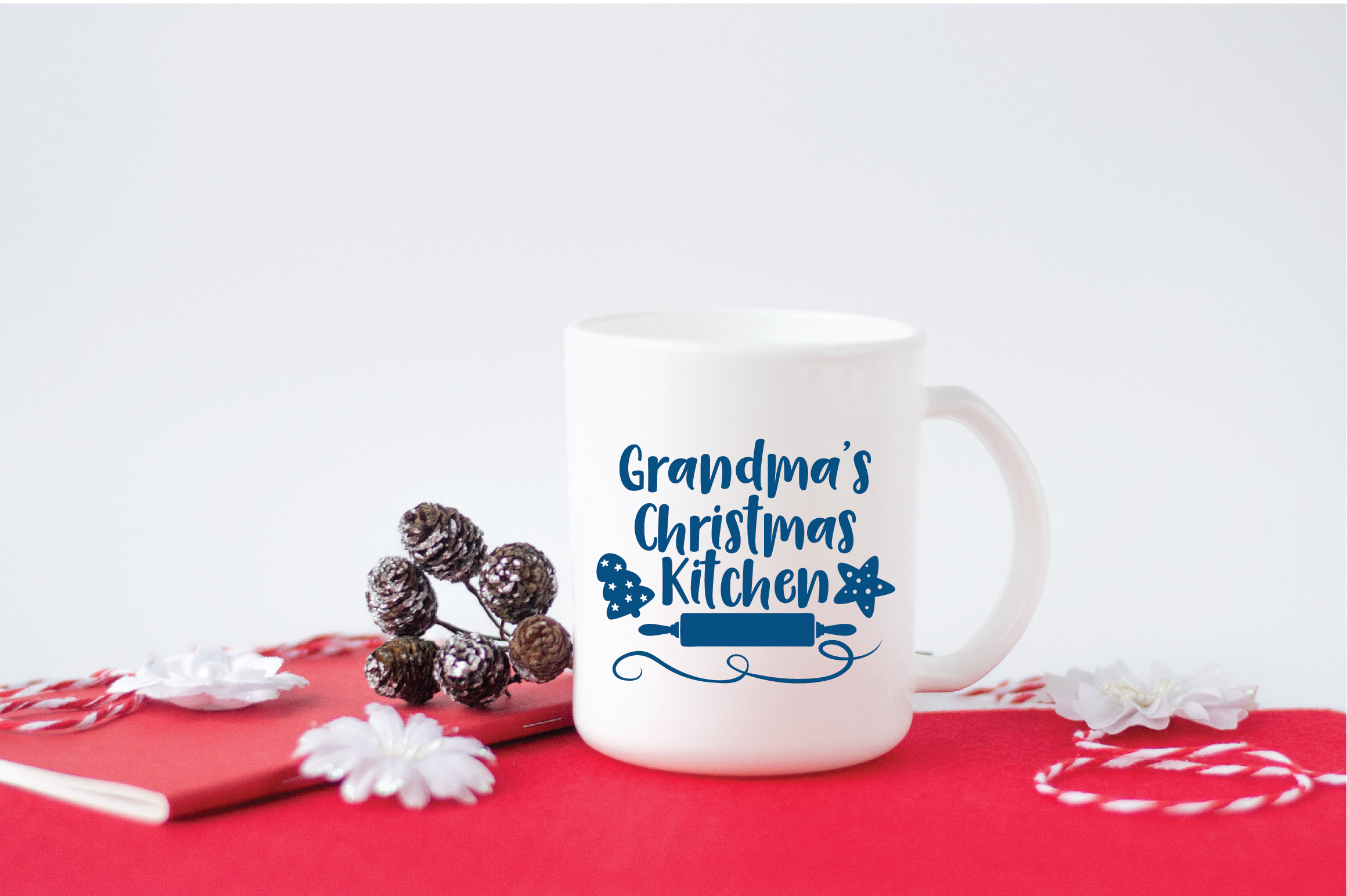 Christmas SVG Cut File - Grandma's Kitchen SVG DXF PNG EPS example image 5