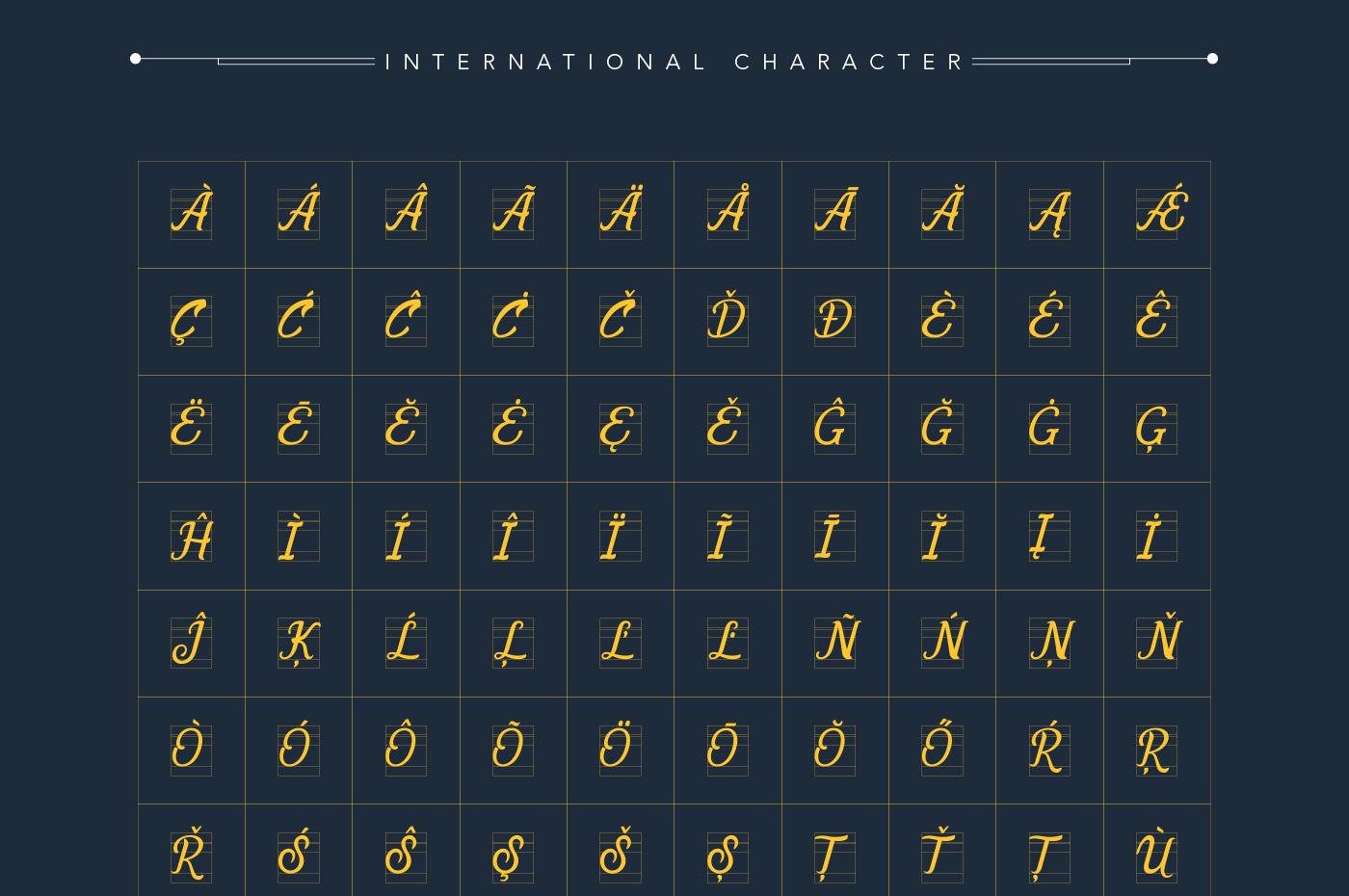 Allema Script Font example image 9