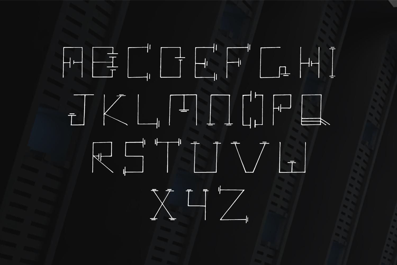 Mercuric Fancy Font example image 3