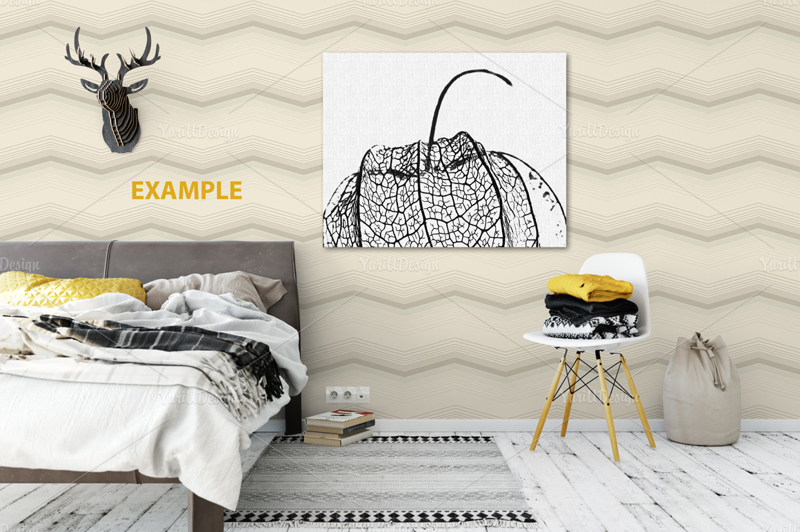 Wall Mockup - Bundle Vol. 1 example image 22