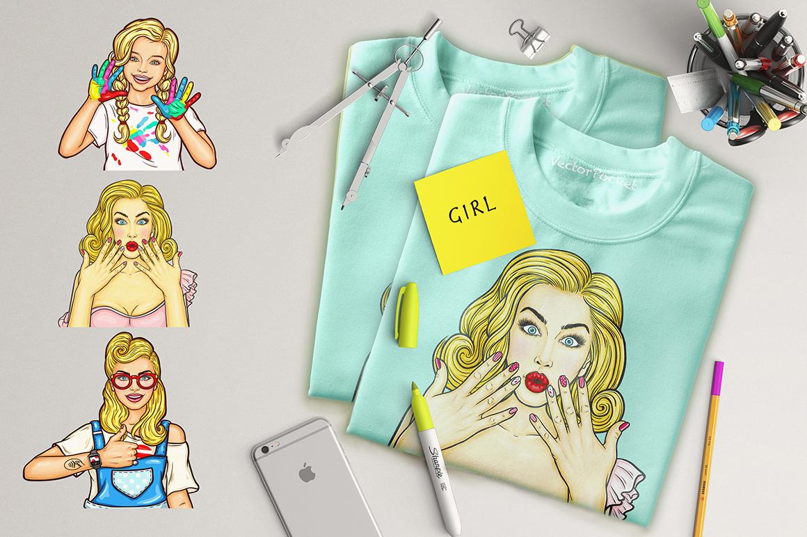 Pop-Art Girls example image 3