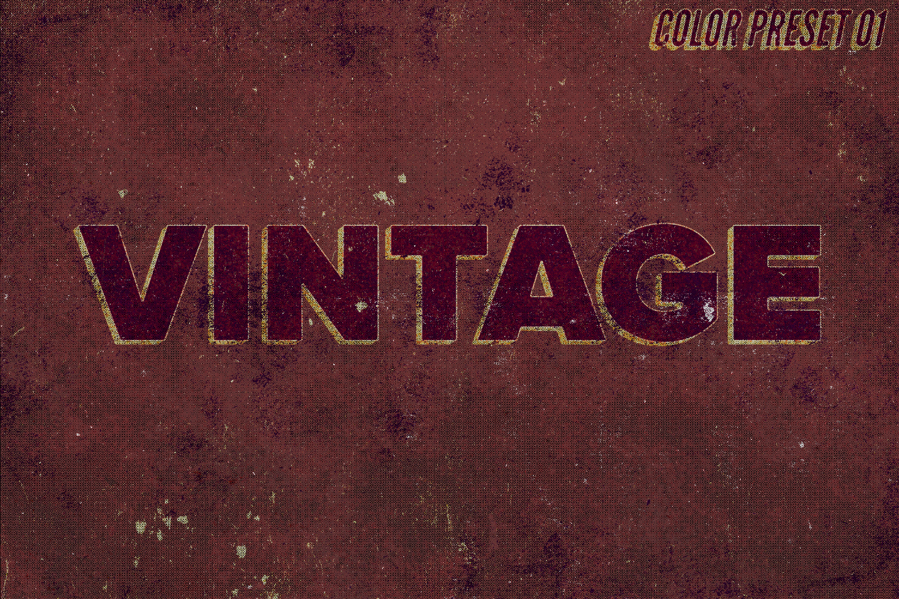 Grunge - Vintage Text Effect example image 3