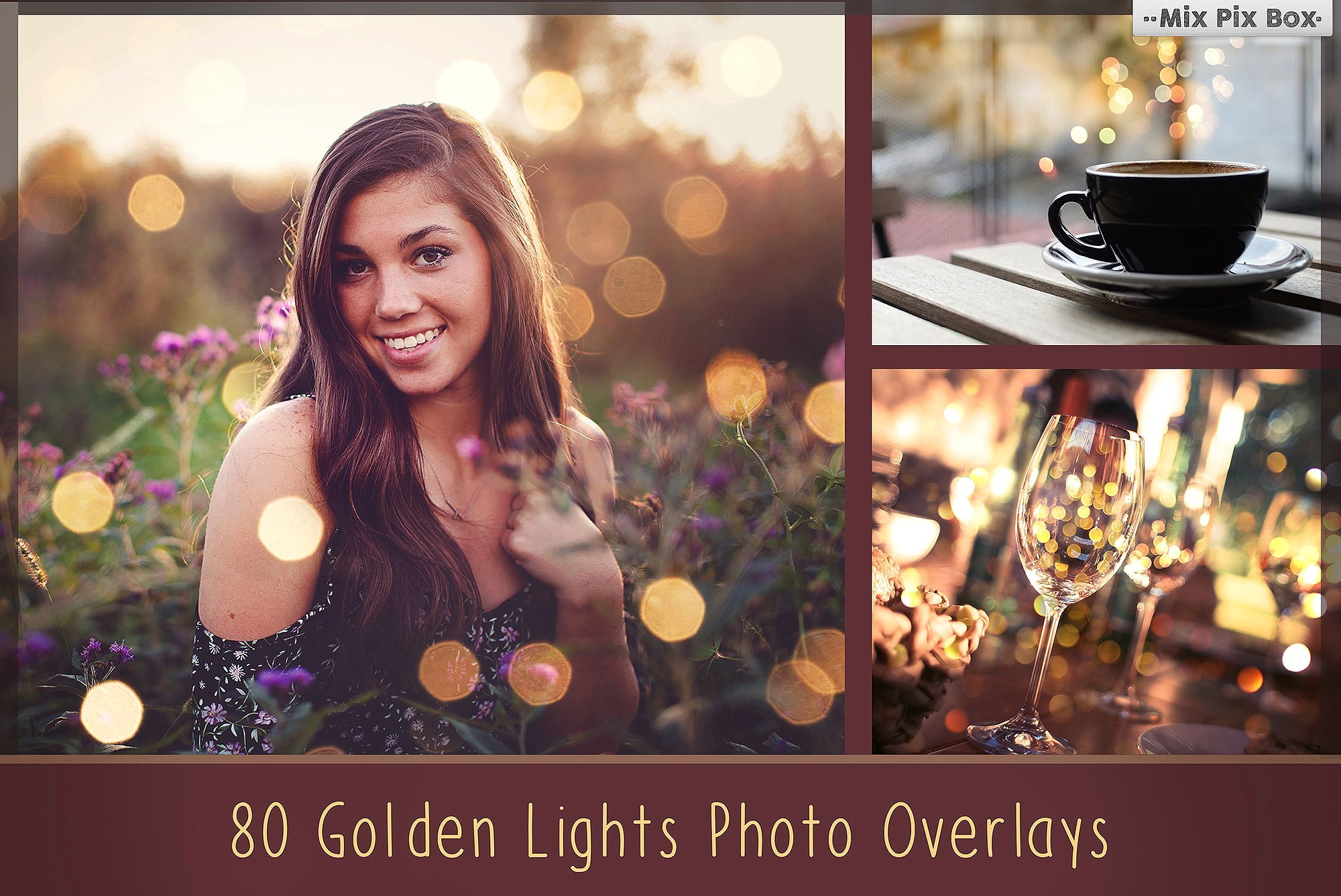 900 Photo Overlays Bundle example image 3