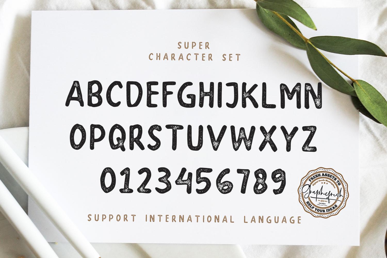 SUPER - A Handwritten Sans Serif example image 6
