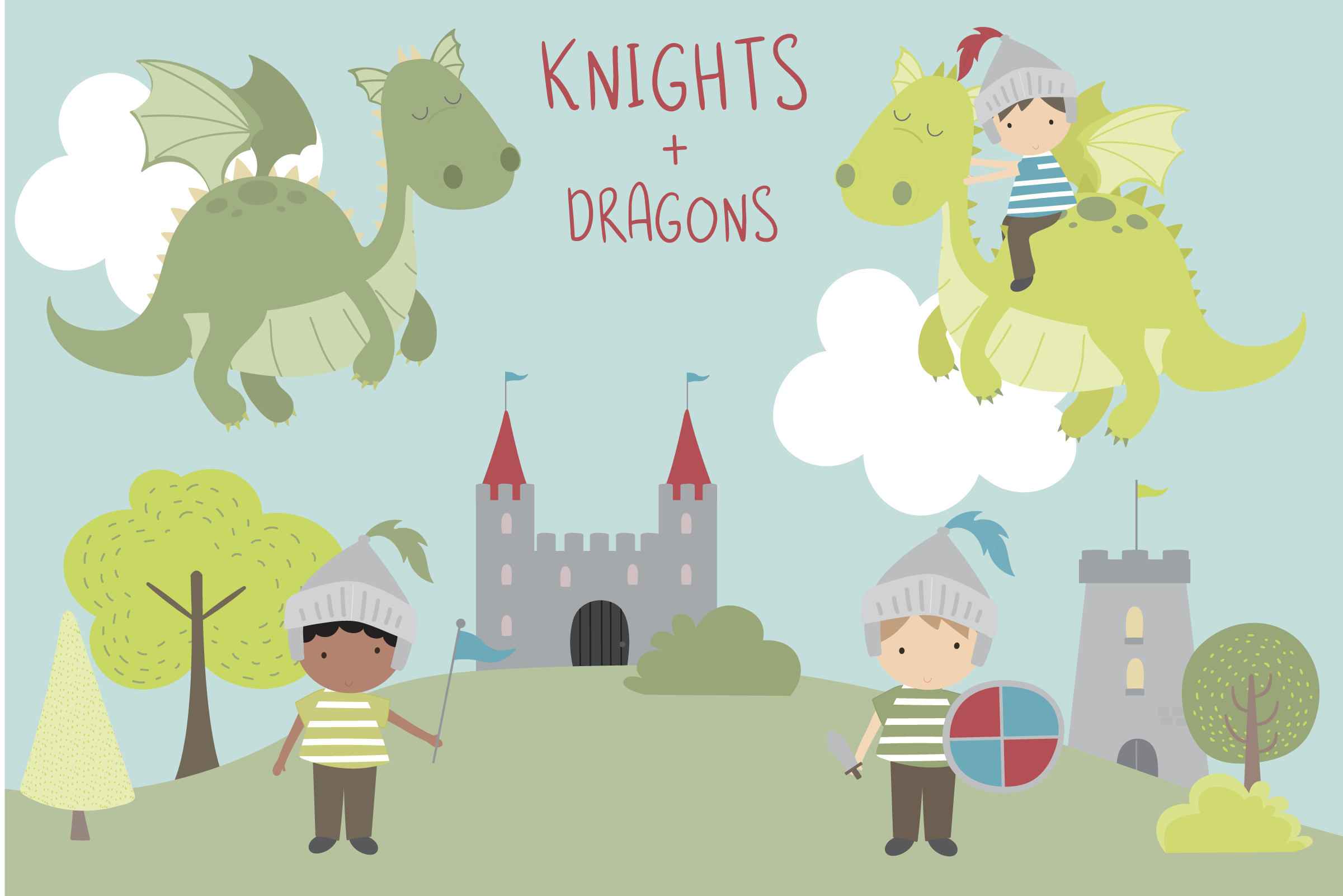 Knights & Dragons example image 1