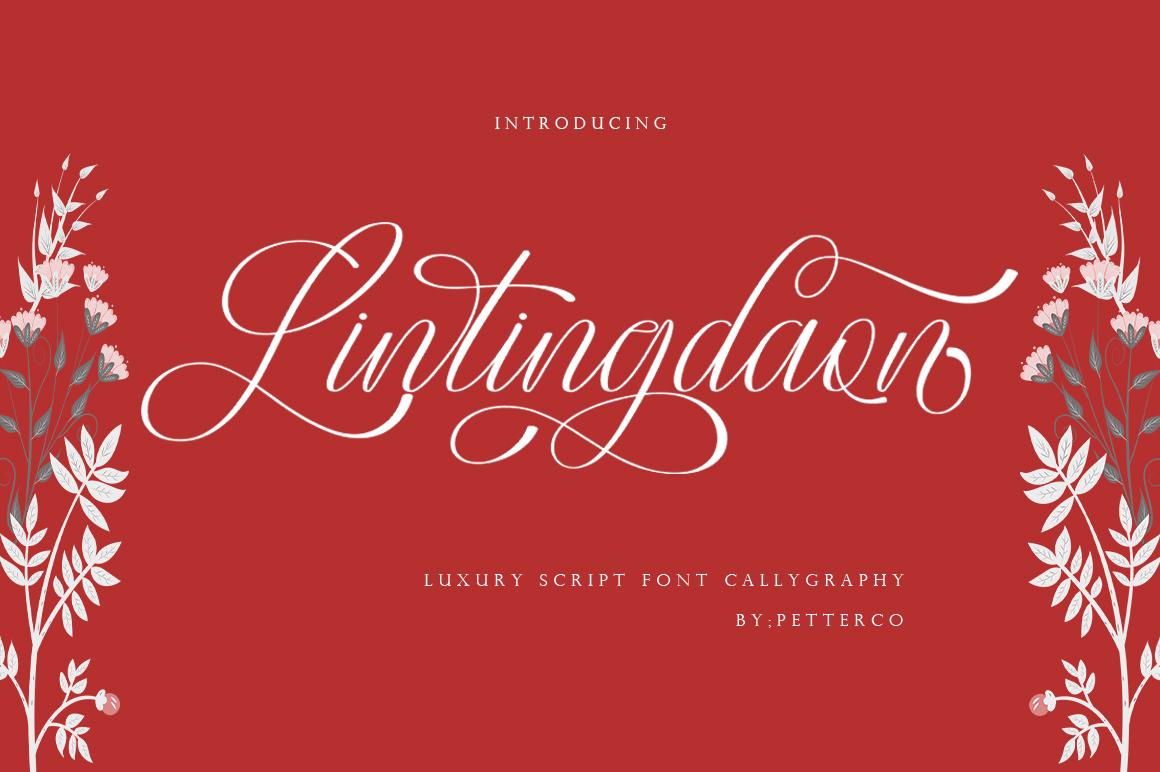 Sweeth Calligraphy Design - Font Bundles example image 2