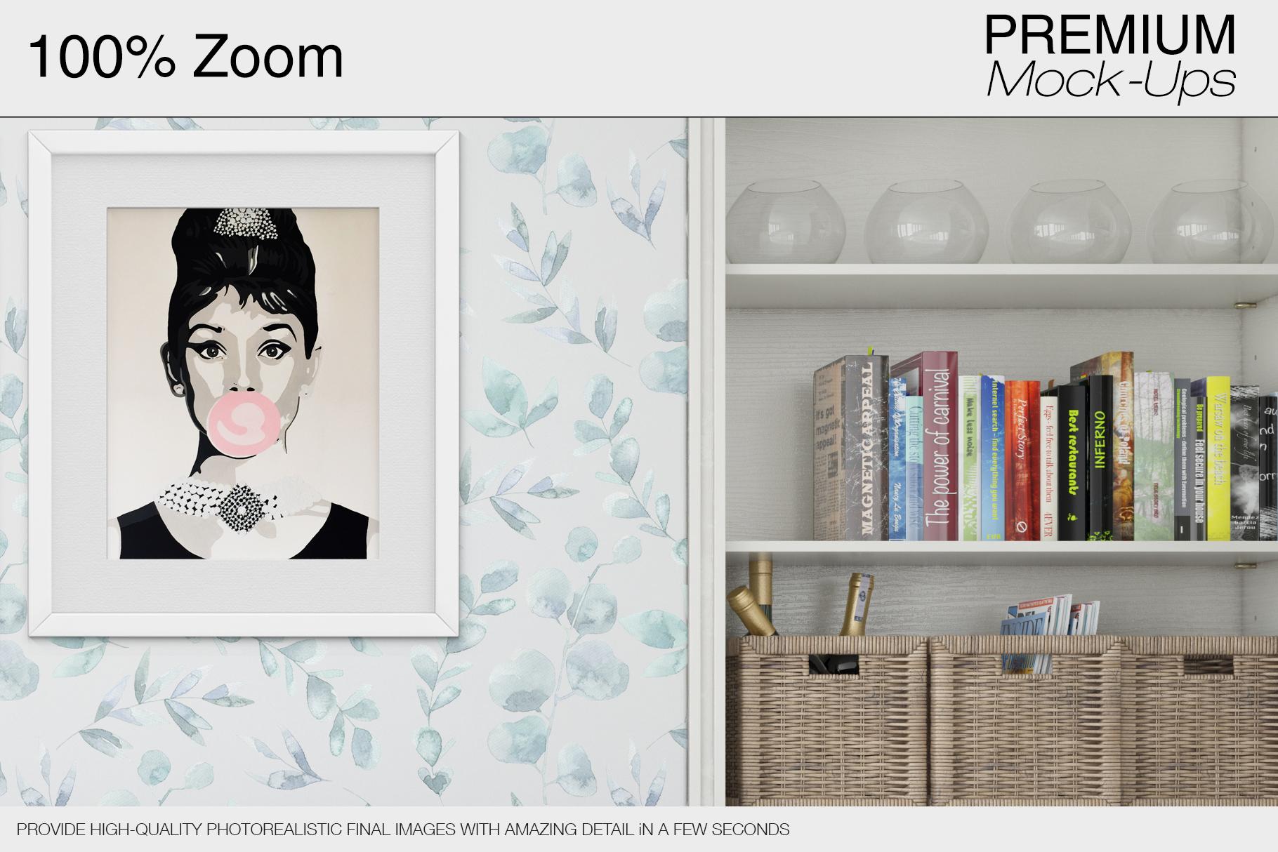 Pillows & Frames Mockup Set example image 26