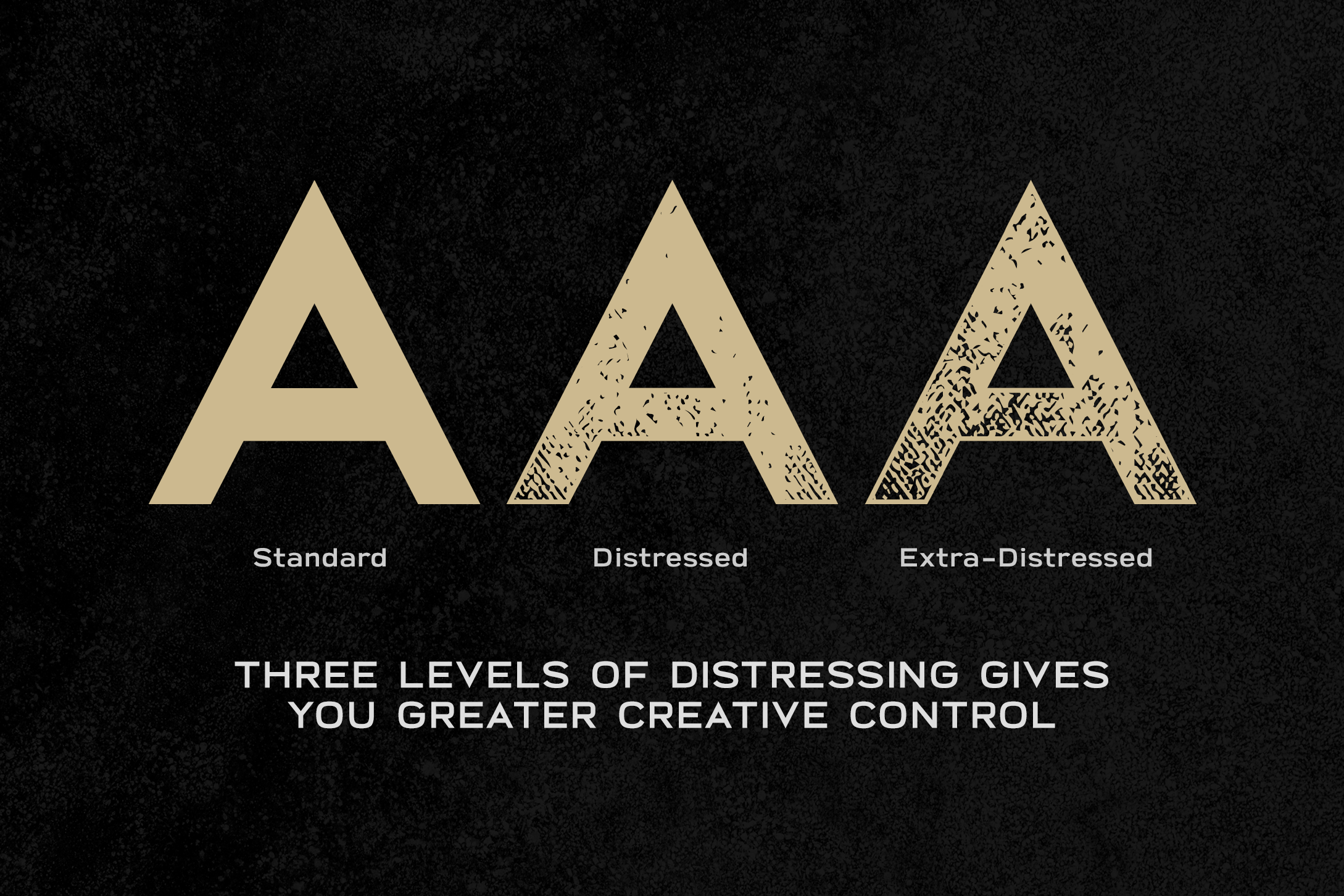 Broadwell Bold Distressed Font example image 4
