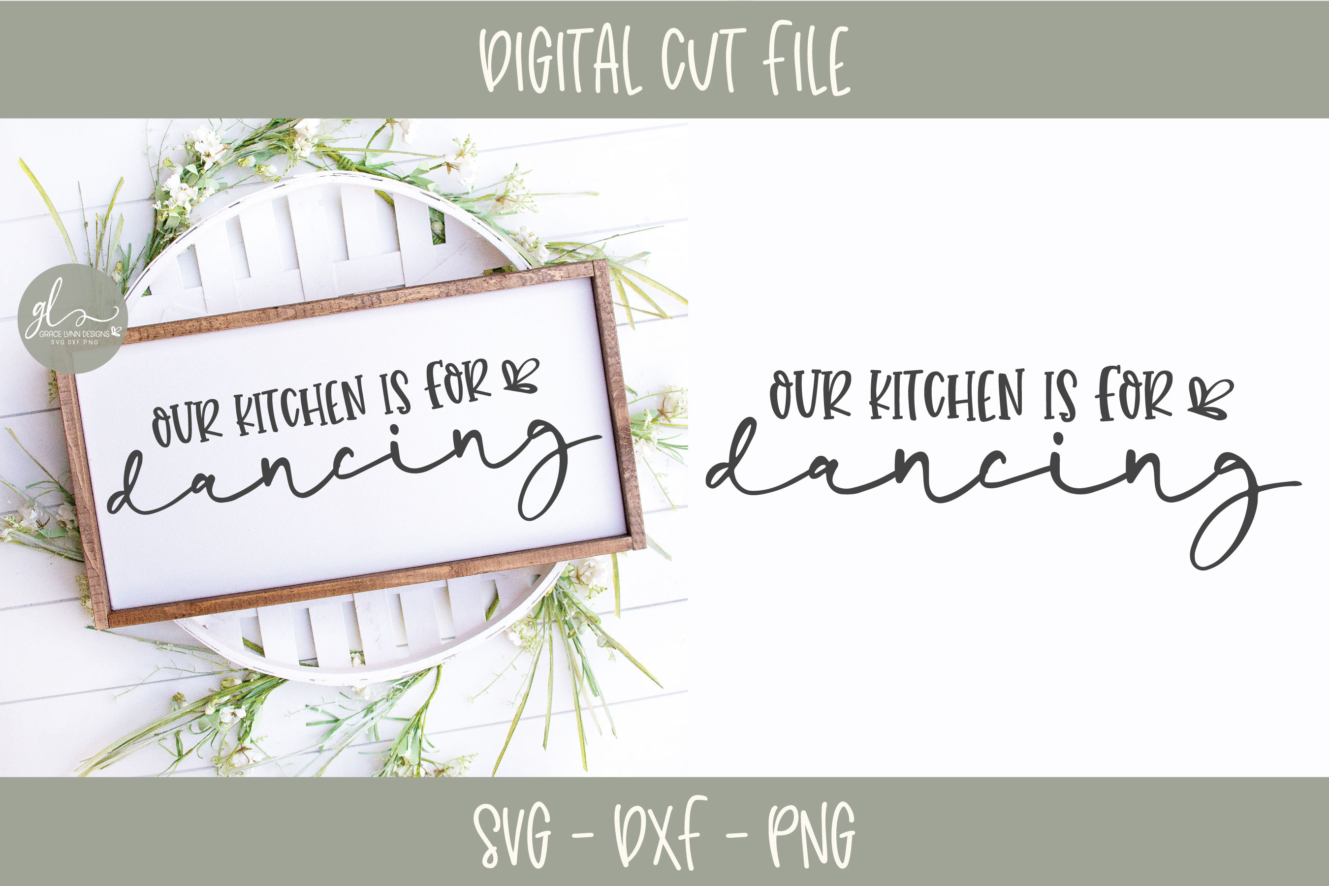Farmhouse Kitchen Bundle - 12 Designs - SVG Cut Files example image 8