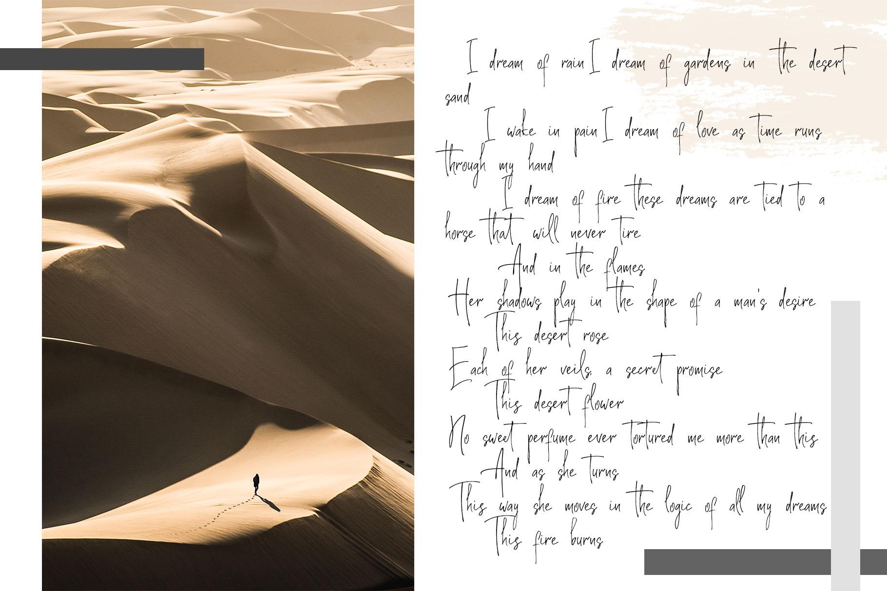 Soul Adventures script font + Extras example image 14