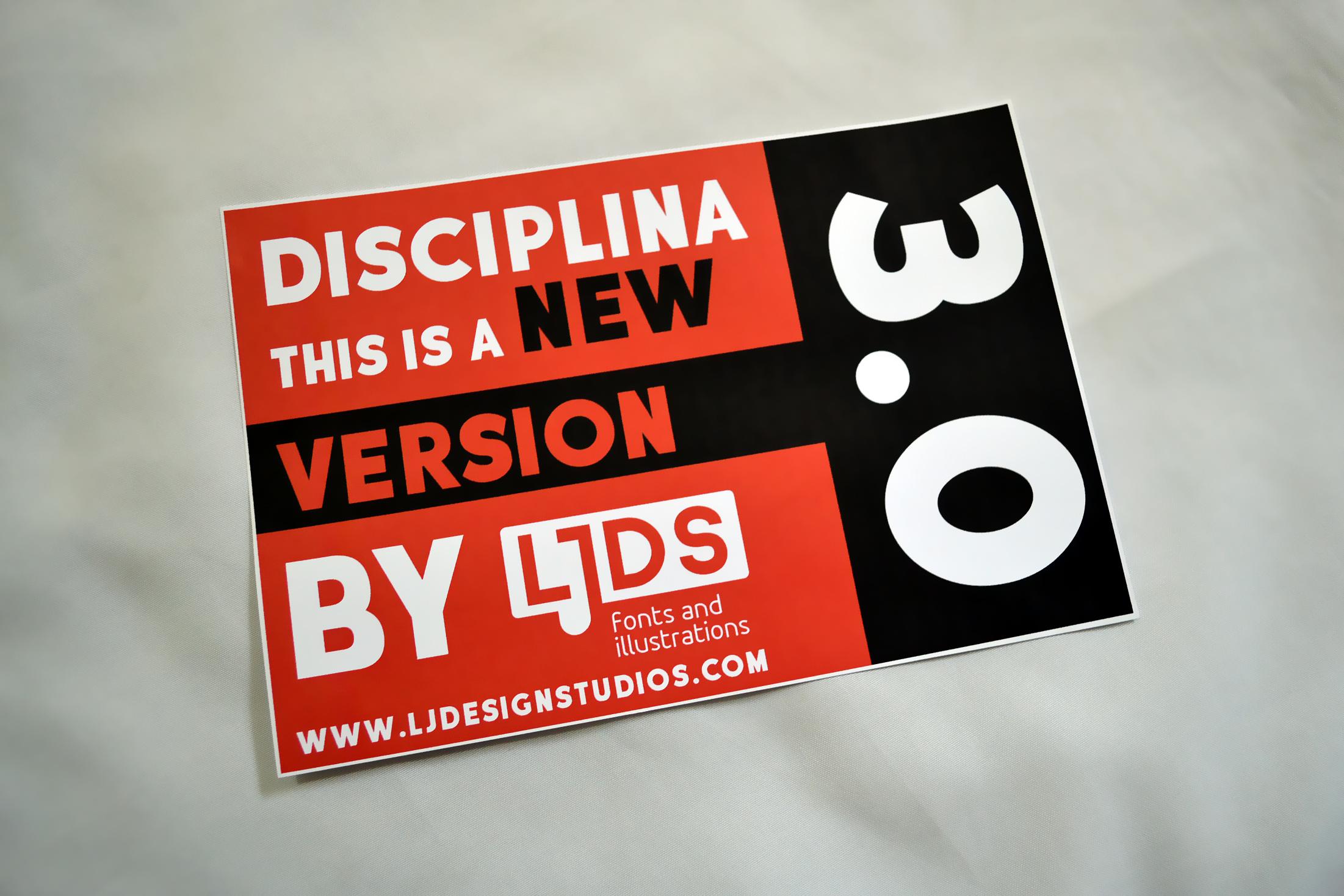 Disciplina example image 7