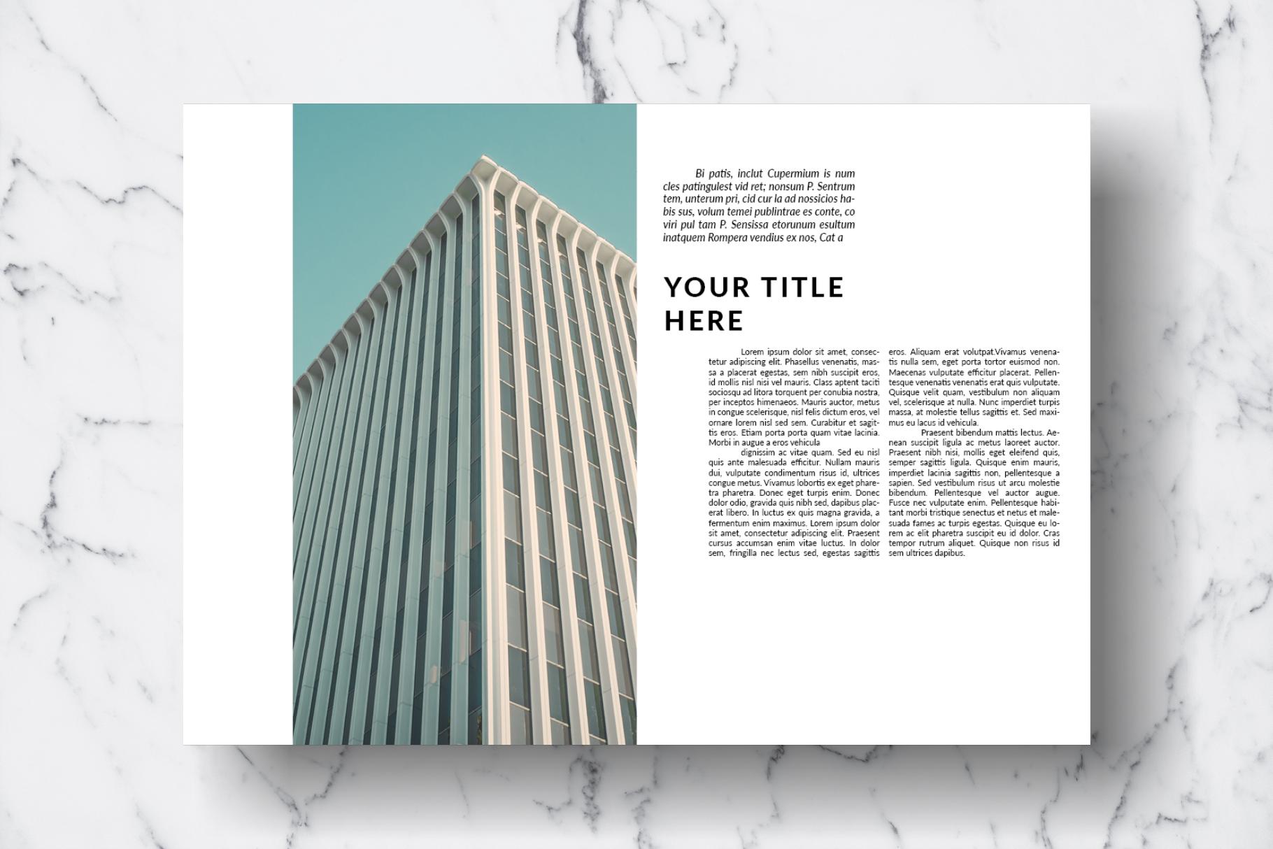 Magazine Template Vol. 13 example image 12