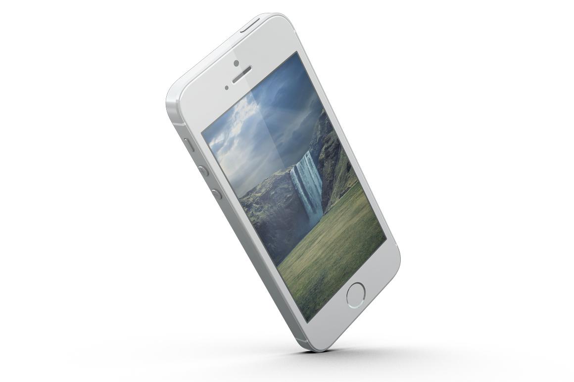 iPhone SE Mockup example image 5