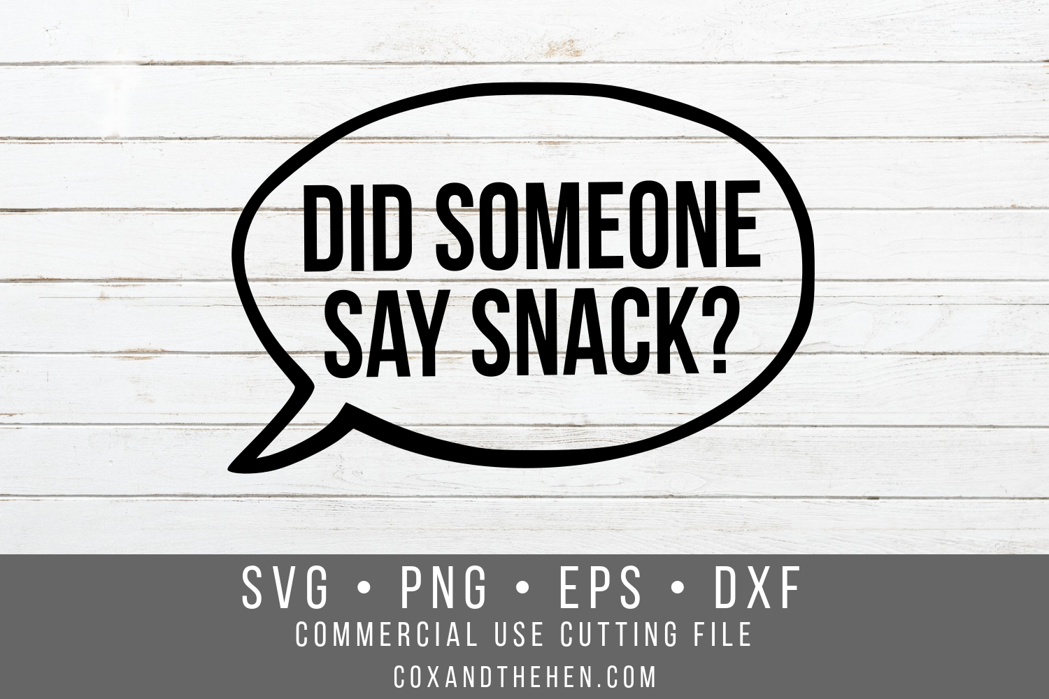 Did Someone Say Snack SVG - School SVG example image 2
