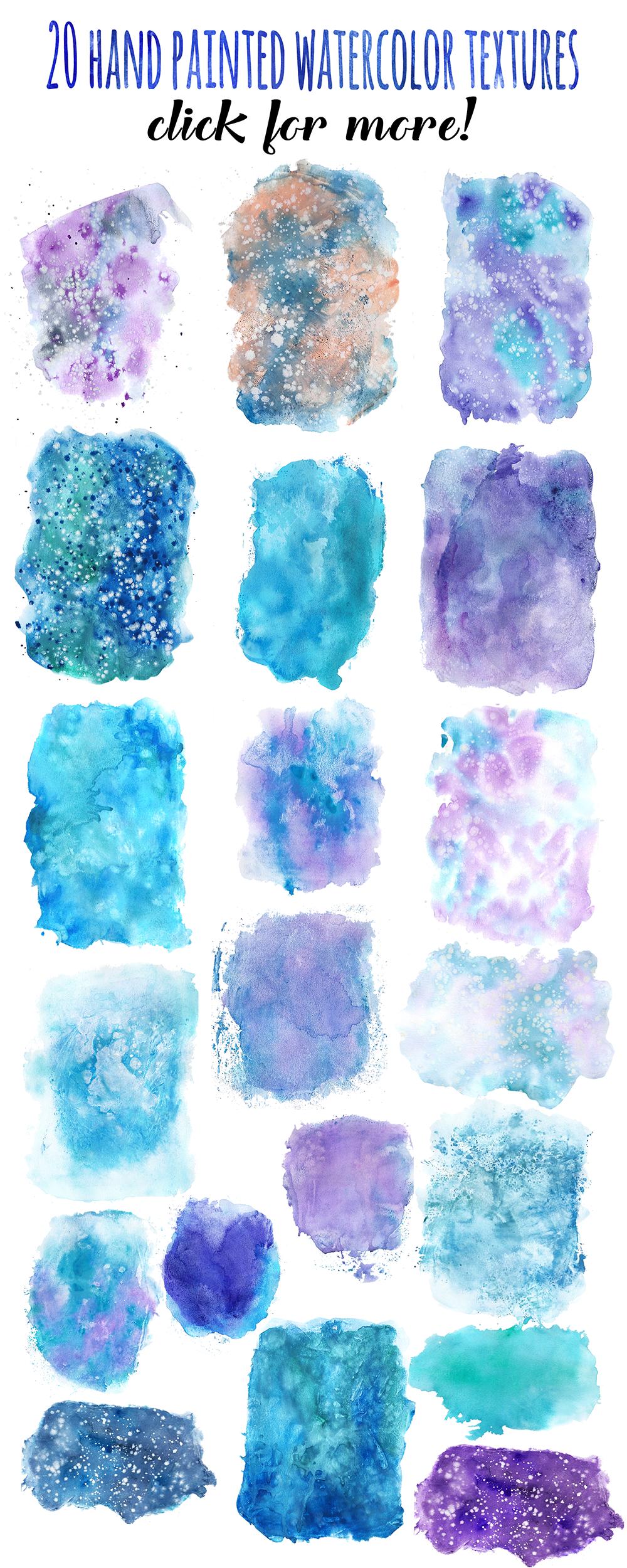 Magic Winter Watercolor Pack example image 11