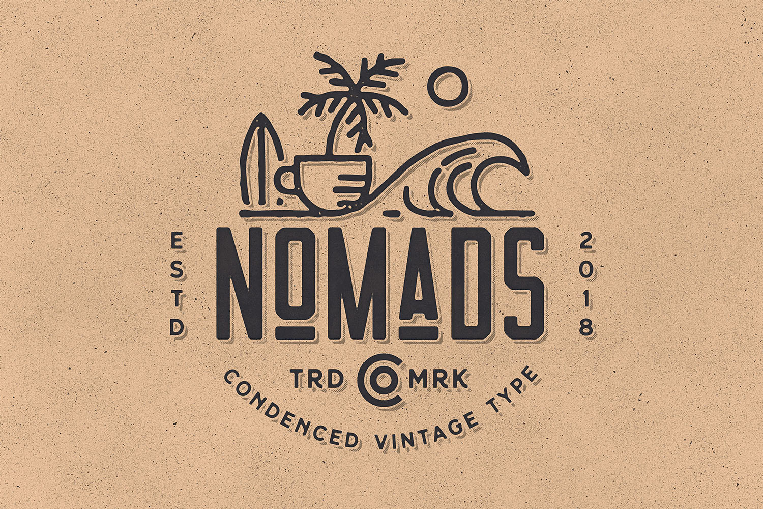 Nomads -The Farmer Original Typeface example image 2