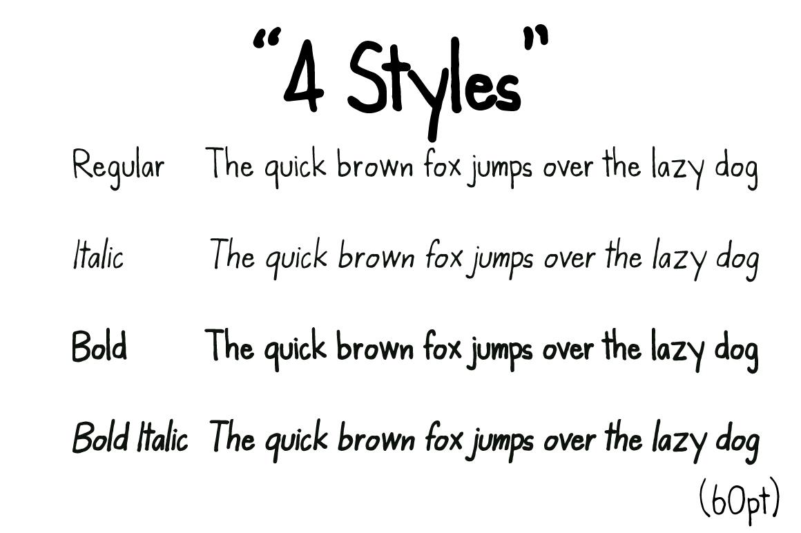 Kanda Handwriting Typeface example image 8