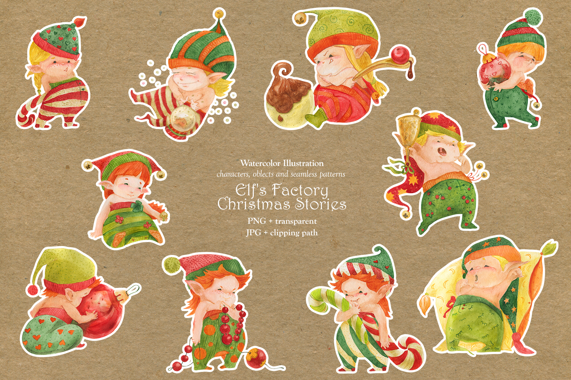 Elf's Factory Christmas Stories example image 12