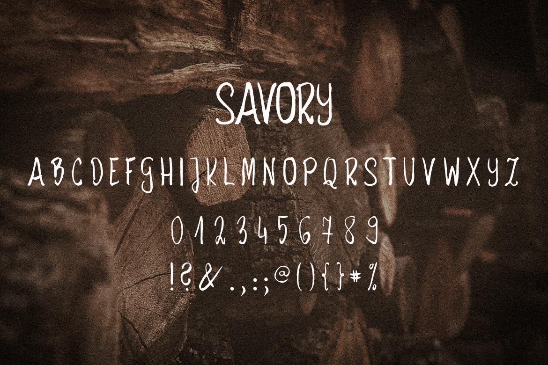 Savory example image 5