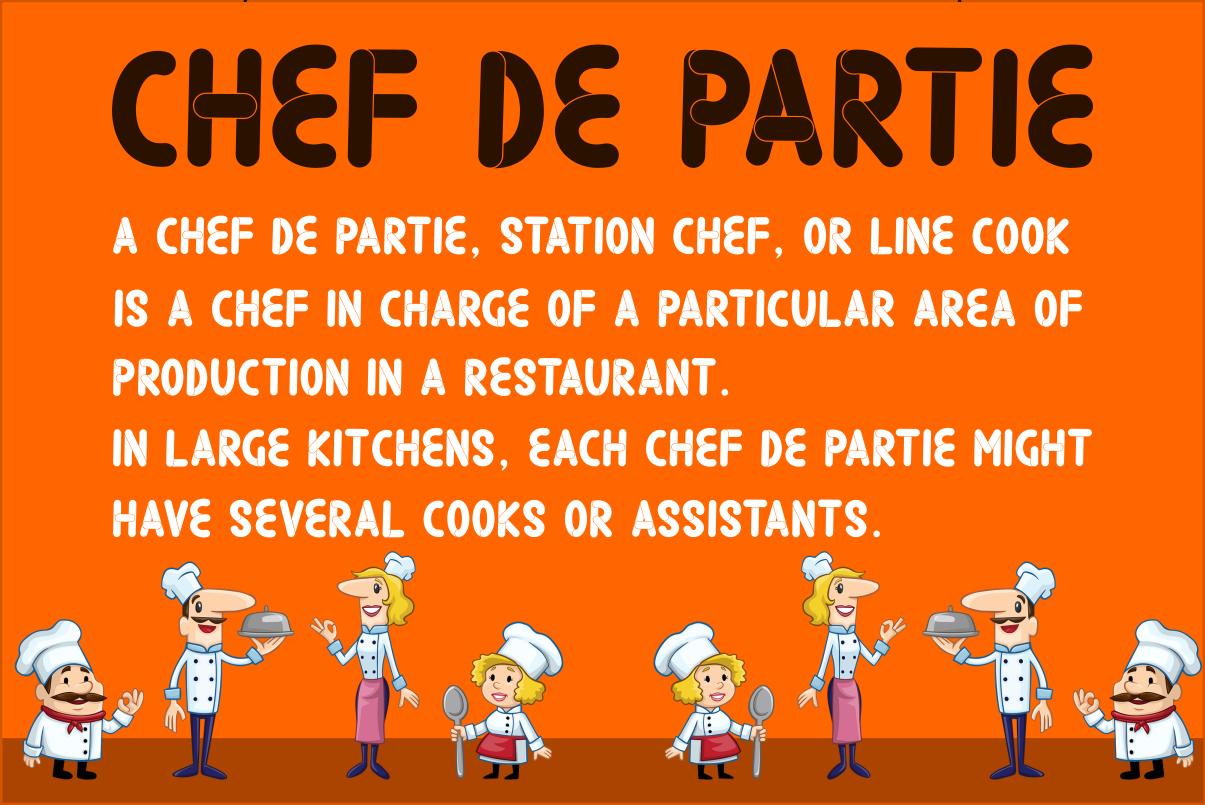 Chef De Partie example image 2