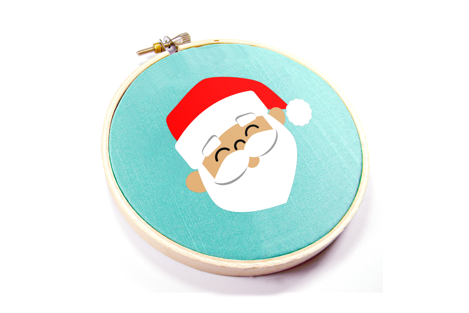 Santa Face Christmas SVG File example image 2